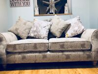 Gorgeous Next Linited Edition Print Sofa. Mint condition - 8 months old
