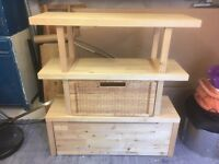 IKEA multi-purpose storage unit, ideal for storing children's toys!!