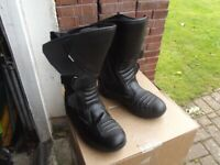 RK Motorcycle boots size 43 UK 9