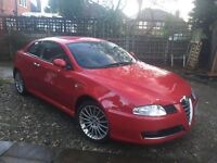 Alfa GT with Detachable Towbar and Bose.