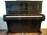 Piano - Upright acoustic piano available for free