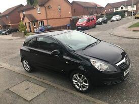 Vauxhall Corsa Black 1.4