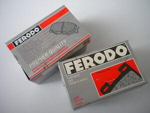 Kit-completo-FERODO-pastiglie-freno-PEUGEOT-205-GTI-1-9-130-CV-ant-amp-post