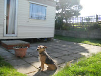 Galaxy Premier Caravan 30ft x 10ft, 2 bedroom, 8 berth on site at Lazy BJ Ranch, Newcastle Co.Down.