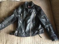 Girls leather jacket 7-8 years