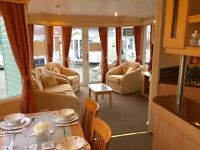 Stunning pre-owned double glazed and central heated caravan for sale including all 2017 site fees