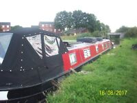 A 65 foot Narrowboat Canalboat in very good condition