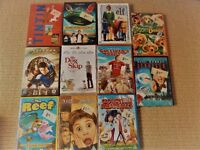 15 FAMILY KIDS CHILDRENS DVD'S FILMS, REEF,TINTIN,SCOOBY DOO,CLOUDY MEAT,HOME ALONE,ELF,SCROOGE,HOOK