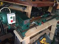 Tyme Cub wood turning lathe
