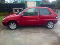 CITROEN SAXO VERY LOW MILES ONLY 36000