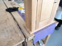 Solid Oak Wall Cabinet