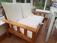 2 seater bench/chair free