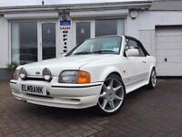 1989 Ford Escort XR3I 1.6 CONVERTIBLE~TENNIS EDITION~LOW MILEAGE~