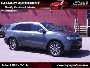 2015 Acura MDX AWD/NAVI/B.CAM/3RD ROW/LEATHER