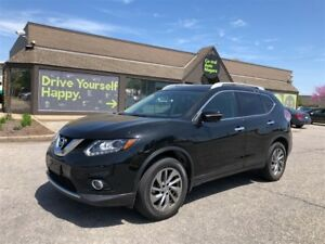 2015 Nissan Rogue SL - AWD / LEATHER/ NAVIGATION / SUNROOF