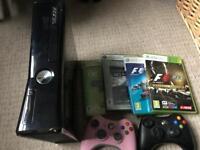 Xbox 360 black gloss 250gb