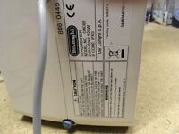 Delonghi DNC65 Aria Dry Light Compact Portable Dehumidifier
