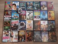Job lot of 29 DVD and Blu-ray Movie Disks