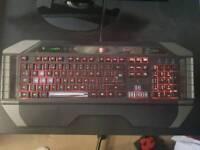 Mad Catz Cybrog V7 gaming keyboard