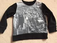 Next boys NYC Long Island Brooklyn jumper age 3