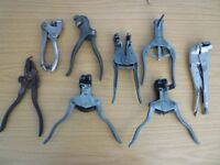 Vintage Tool Job Lot..Saw Set..Electrical Pliers..Etc.
