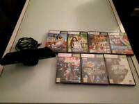 Xbox 360 Kinect and 7 games