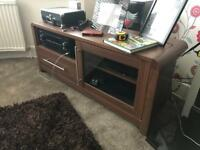 Tv unit and sideboard High quality pieces Few marks. Good condition.