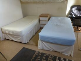 Single Beds / Double Bed