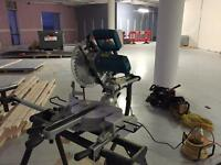 Heavy duty mitre saw