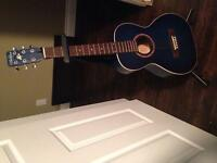 Never been used blue guitar