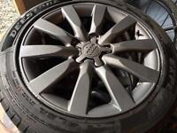 Audi A4 b8 17 inch alloys