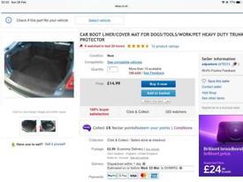 Car Boot Liner/ Cover Protctor