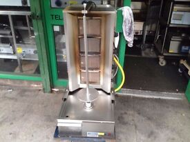 COMMERCIAL SHAWARMA FASTFOOD DONER KEBAB CATERING MACHINE TAKEAWAY CAFE KITCHEN SHOP SECOND HAND