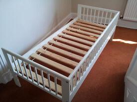 IKEA Gulliver Bed Frame (white)