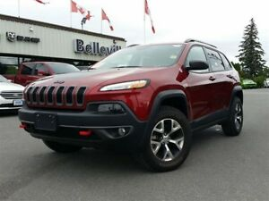 2017 Jeep Cherokee Trailhawk-Power Liftgate-Heated Seats/Steerin