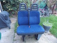 Iveco Daily bench seats. 2005.