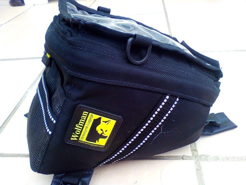 Wolfman Enduro Tank Bag 6l Excellent Condition