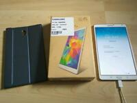 Samsung Galaxy Tab S 16gb White with Case