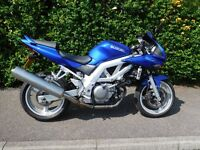 Good condition, hardly used, garaged, lovely bike, genuine sale, small scratch on tank.
