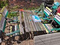 Garden furniture UPSCALING!