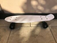 22 inch Junior White Penny Board