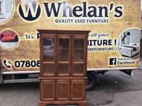 Solid oak wood Welsh dresser £125