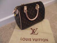 Beautiful Louis Vuitton Speedy Bag