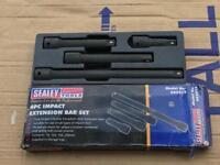 Sealey 4pc impact extension bar kit