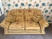 Settee with double bed