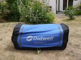 Montana 4 - Outwell 2+2 Tent