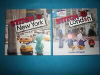 New Stitch London & Stitch New York Knitting Books IP1