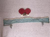 Vintage Table Tennis Ping Pong Set with net, bats and balls