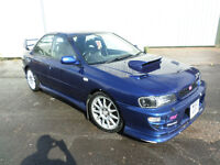 subaru impreza sti rep non turbo sport loads of mods