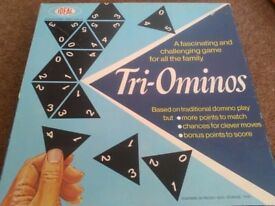 Tri ominoes game